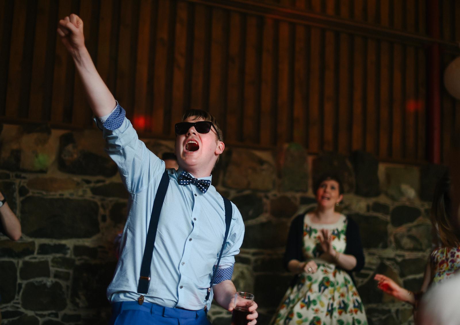 Alternative Wedding Photography Northern Ireland Riverdale Barn